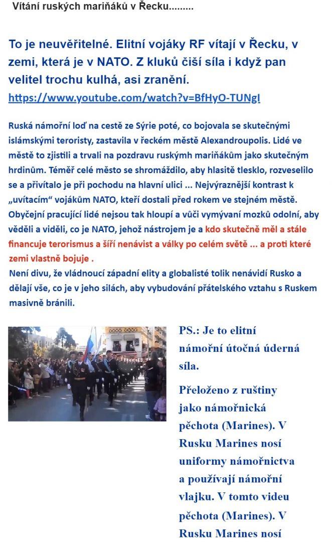 Dezinformace Vitani Ruskych Marinaku V Androupoli Propaganda