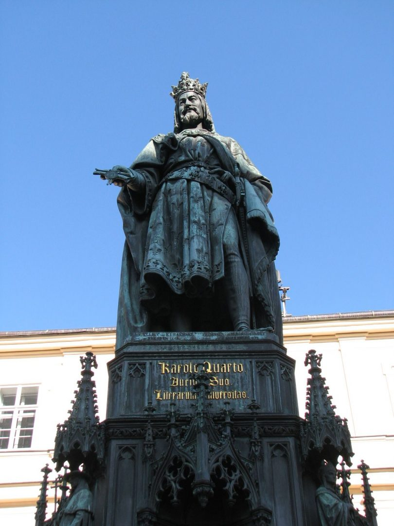 Karel IV Socha Karluv Most
