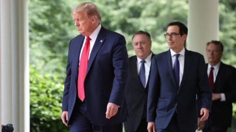 USA formálně ukončují vztah sWHO, oznámil Trump