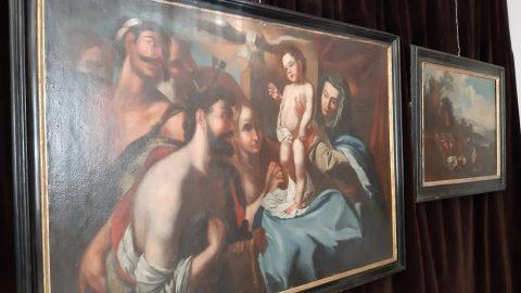 Vyprávěcí obrazy ve tvrzi ve Žďáru nad Sázavou