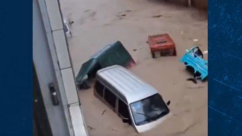 Červnové povodně asucha postihly vČíně miliony lidí
