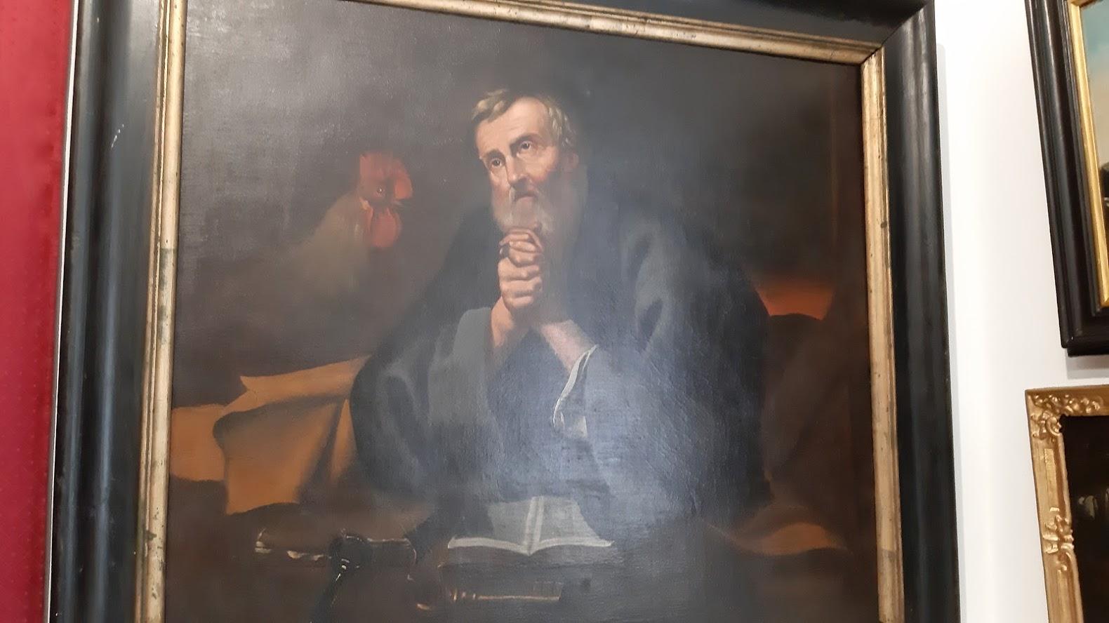 Svatý Petr obraz insignie