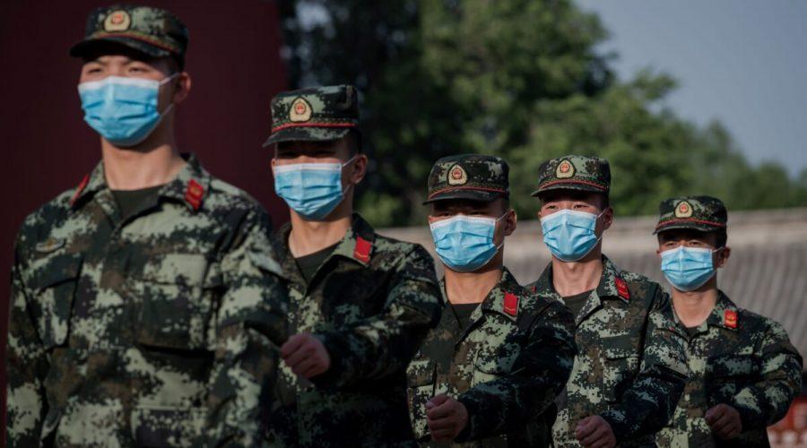 čínská armáda