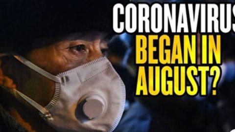 Koronavirus mohl vČíně začít už vsrpnu 2019, čínské stíhačky vstoupily do tchajwanského vzdušného prostoru…