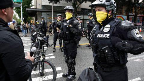 "Policie vSeattlu vyčistila ""autonomní zónu"""