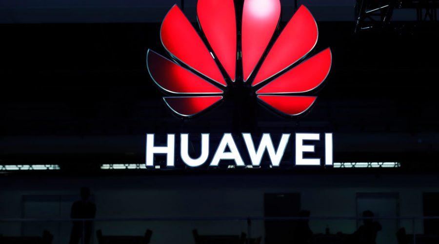 Logo čínské společnosti Huawei. (Stefan Wermuth / AFP prostřednictvím Getty Images)