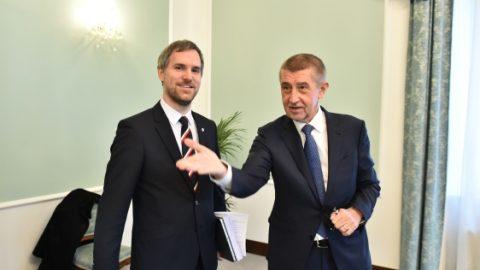 Rozvoj pražských nemocnic je prioritou, shodli se na jednání Zdeněk Hřib spremiérem Babišem