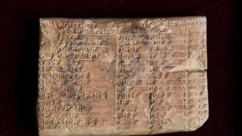 3700 let stará destička zBabylónie byla přeložena. Přinesla pozoruhodný objev