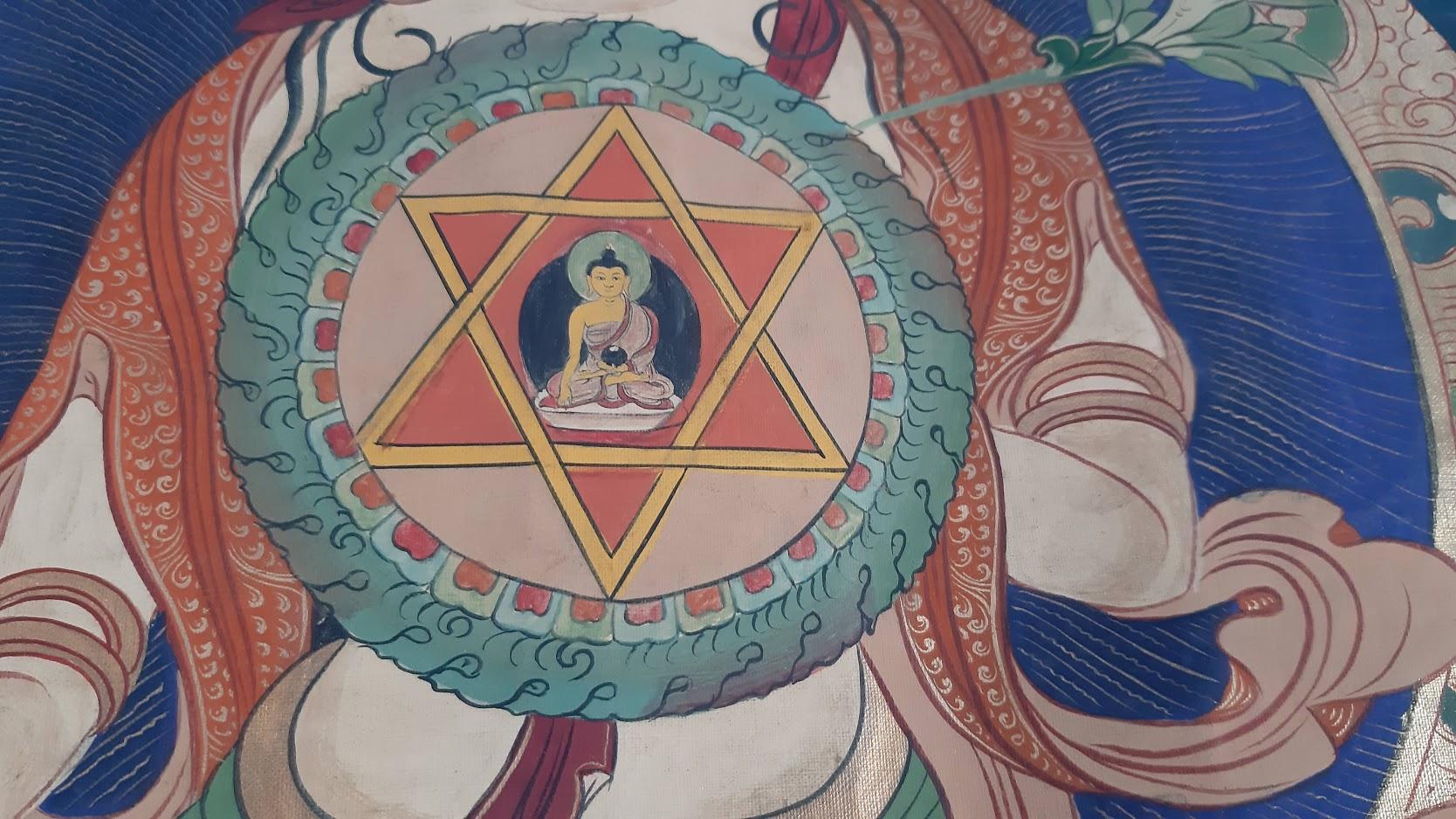 Jeden ze symbolů buddhismu. (Z. Danková / ET ČR)