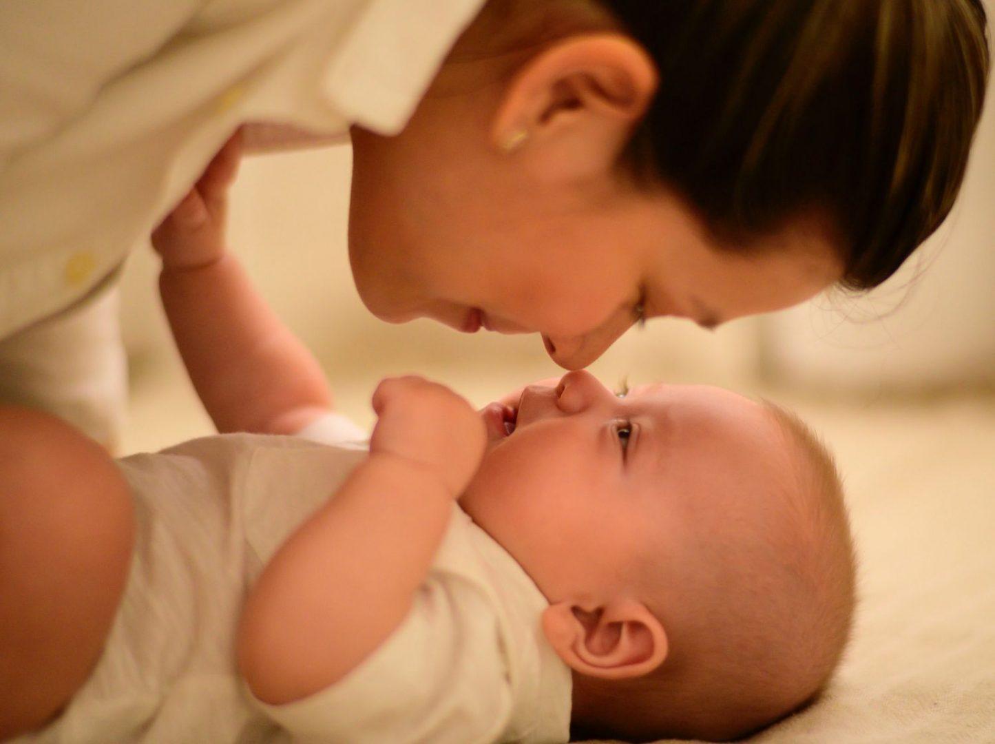 miminko a maminka