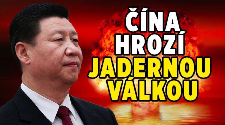 čína usa jaderná válka