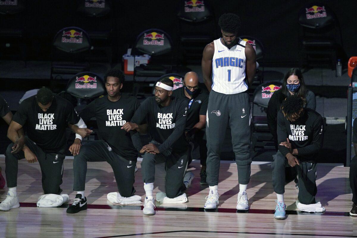 blm Jonathan Isaac basketbal