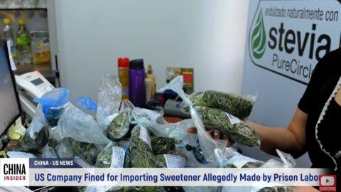 Pokuta půl milionu dolarů, za dovoz výrobků zčínských vězení