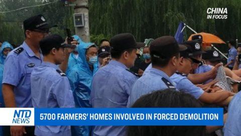 V Číně probíhají nucené demolice domů apokračují záplavy. USA zvyšují opatření proti negativnímu vlivu čínského režimu vzahraničí