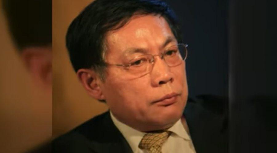 Čínský magnát v oblasti nemovitostí (Ren Zhiqiang) Žen Č'-čchiang. (Screenshot / YouTube)