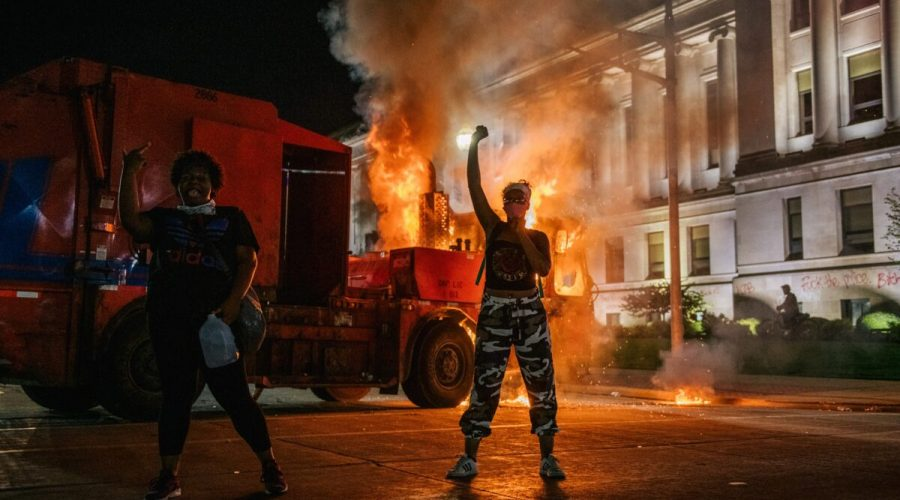 protesty usa