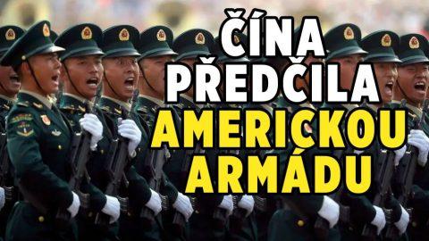 Čína vněkterých ohledech překonala americkou armádu, uvádí zpráva Pentagonu (video)
