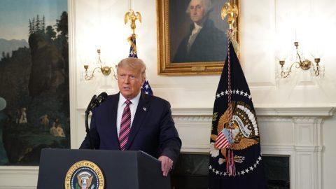 Trump varoval před vzrůstajícím vlivem ultra-levicových hnutí
