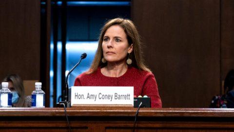 Barrettová složila přísahu soudkyně Nejvyššího soudu