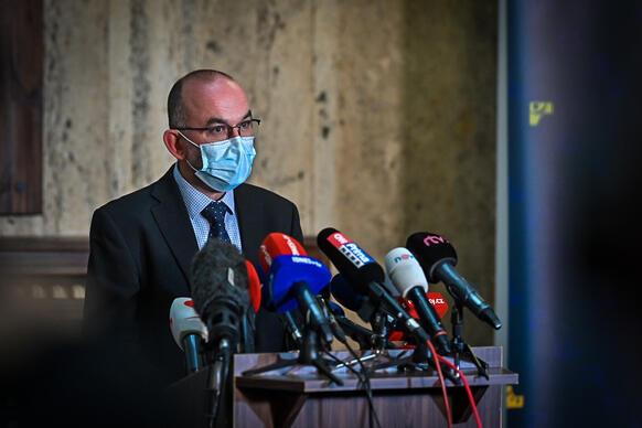 Nový ministr zdravotnictví Jan Blatný. (vlada.cz)