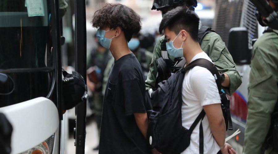 HONG KONG protest zakon