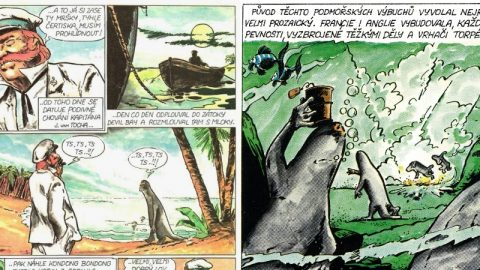 Komiks Válka smloky, podle románu Karla Čapka, přetvářejí do filmové adaptace