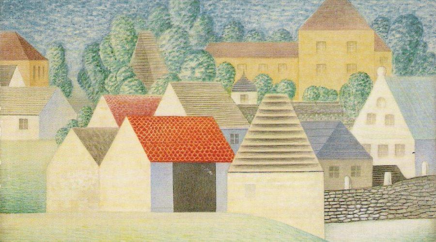 Jan Zrzavý: Okrouhlice, 1960. (Galerie výtvarného umění v Chebu)