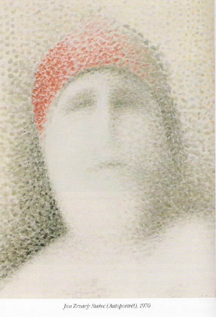 Jan Zrzavý: Stařec (Autoportrét), 1970. (Národní Galerie v Praze)