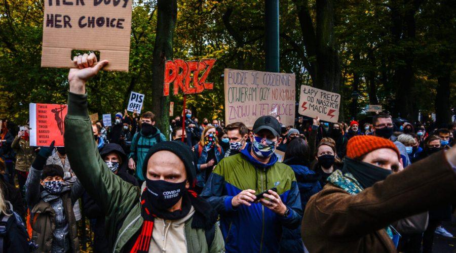 polsko protest