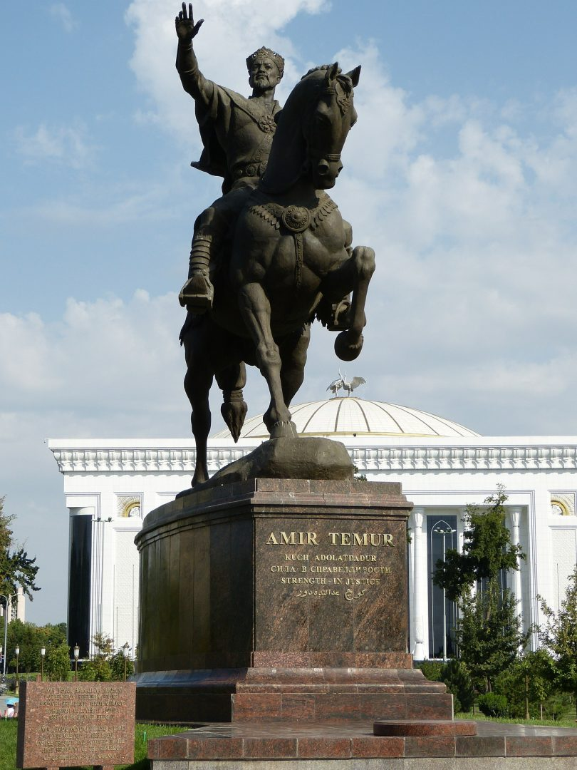 Tamerlána v Samarkandu