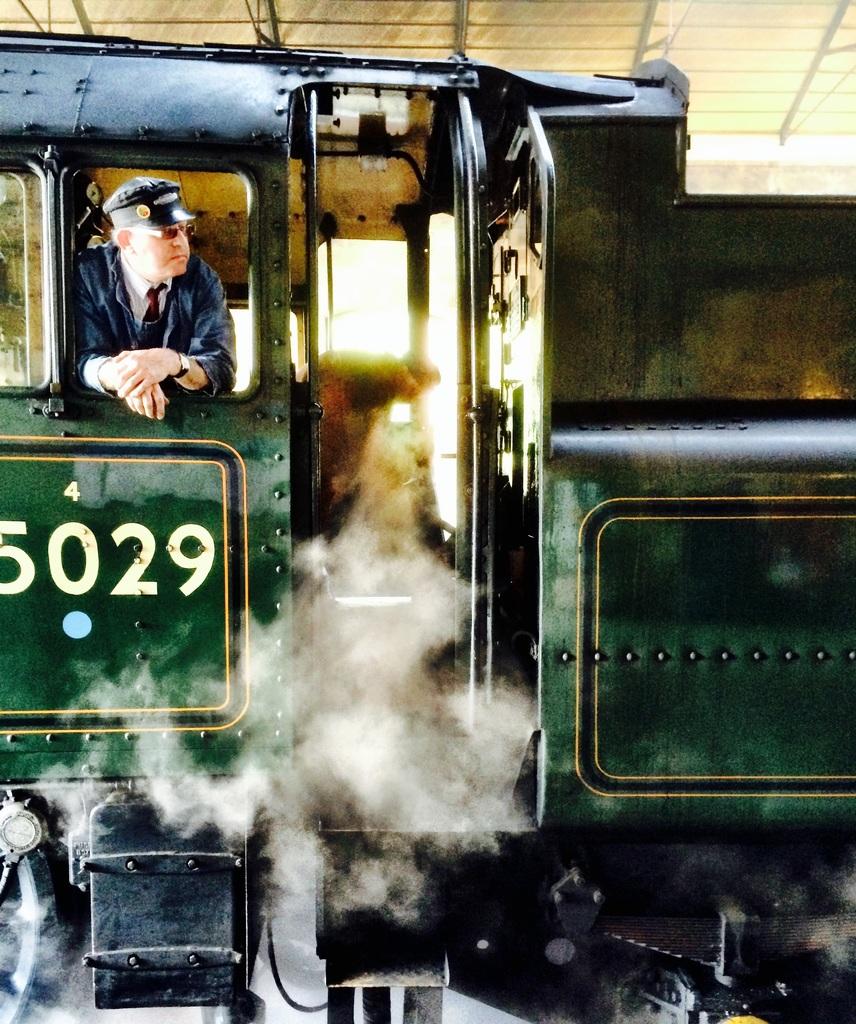 parni vlak lokomotiva