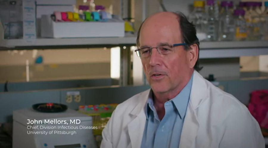 John Mellors, šéf oddělení výzkumu infekčních nemocí na University of Pittsburgh. (Screenshot / YoTube)