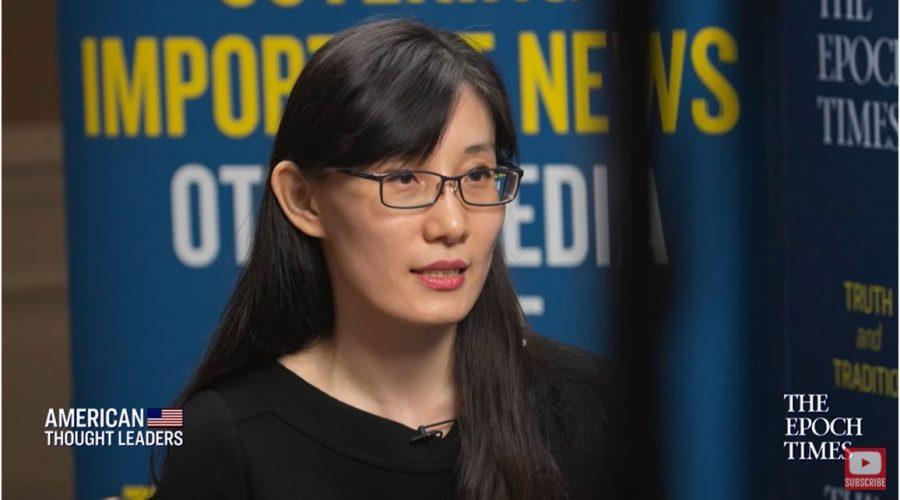 Viroložka Yan Li-Meng v rozhovoru s Epoch Times. (America Thought Leaders)