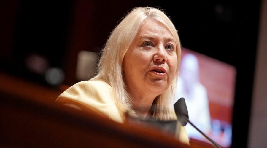 Republikánka Debbie Lesková, vede výslech během slyšení sněmovního soudního výboru ve Washingtonu, 10. června 2020. (Greg Nash-Pool / Getty Images)