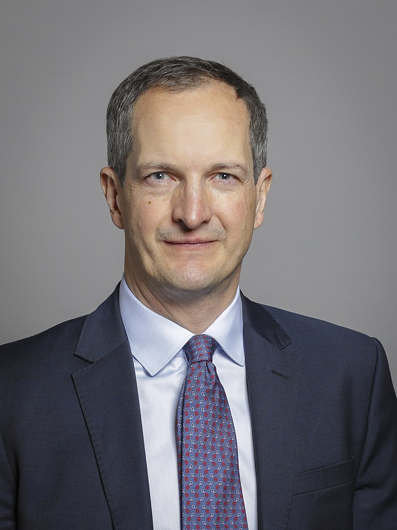 Britský ministr pro inovace James Nicholas Bethell.