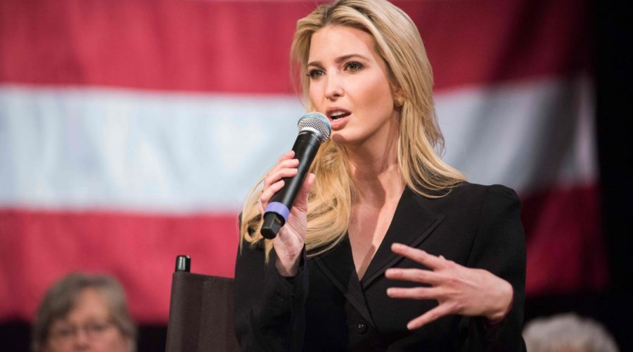 Ivanka Trumpová, New Hampshire, 17. dubna 2018. (Ryan Mcbride / AFP / Getty Images)