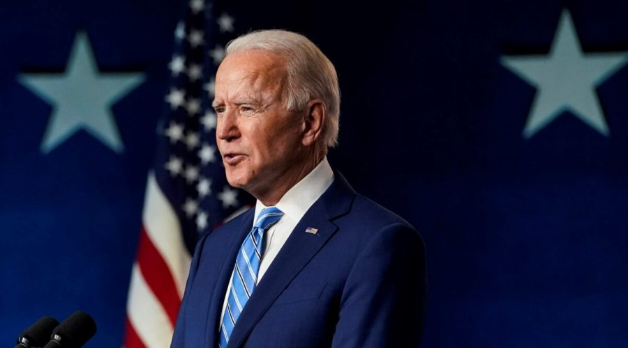 Prezidentský kandidát Joe Biden. (Drew Angerer / Getty Images)