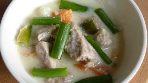 Recept: Kuře vkokosovém mléce