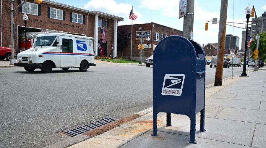 Poštovní schránka v USA, New York. (Theo Wargo/Getty Images)