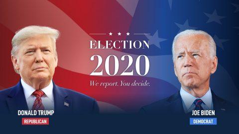 Volby vUSA: Prozatím vede Donald Trump (144), Biden (126) volitelů (čas 4:55)