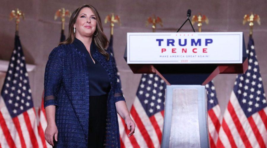 Předsedkyně Eepublikánského národního výboru (RNC) Ronna McDanielová. (Chip Somodevilla/Getty Images)