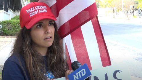 Volička zTexasu: obrovská podpora Trumpa umenšin je vjeho anti-socialistickém postoji