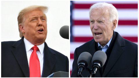 """Biden vyhlašuje vítězství, Trump říká, že je ještě """"daleko do konce"""" voleb"""