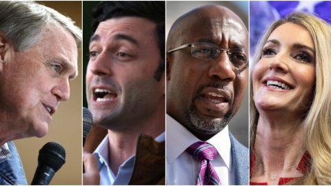"""Ve státě Georgie začíná """"volební bitva"""" oposlední dvě křesla, kdo ovládne Senát USA?"""