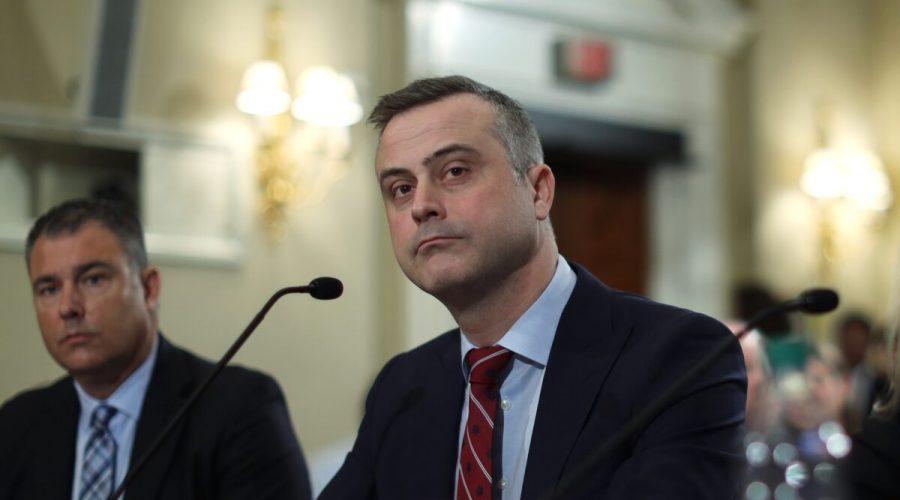 Prezident a generální ředitel společnosti Dominion Voting Systems John Poulos. (Alex Wong / Getty Images)