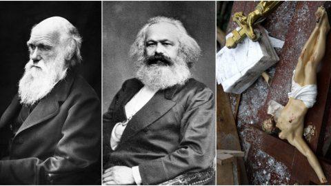 Morální úpadek pod taktovkou Marxe, Darwina ajejich následovníků pokračuje dodnes