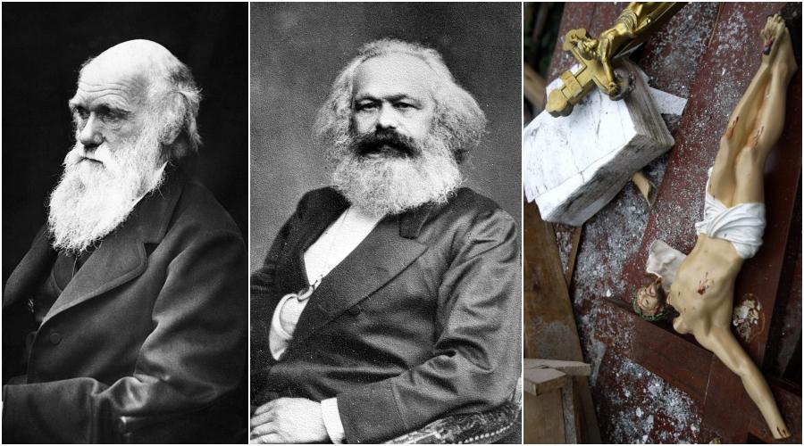 Od Marxe Pres Darwina K Moralnimu Upadku