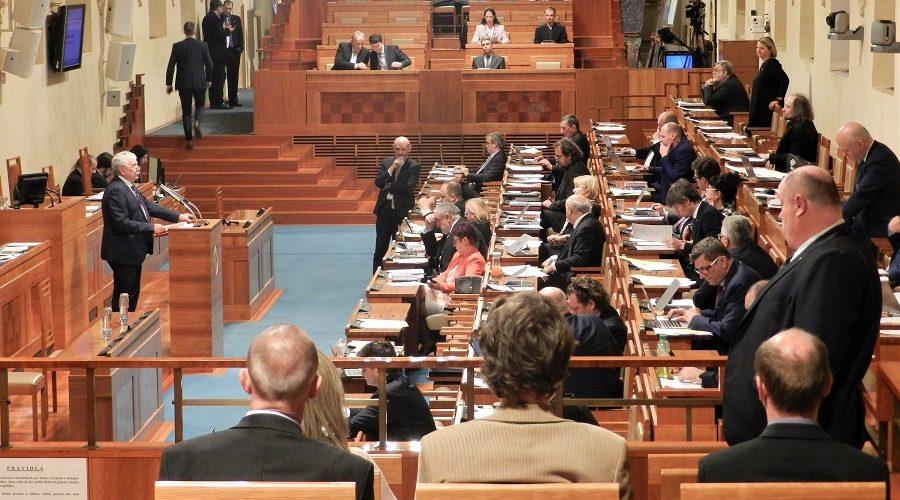 Zasedání Senátu Parlamentu České republiky 20. března 2019. (Epoch Times ČR)