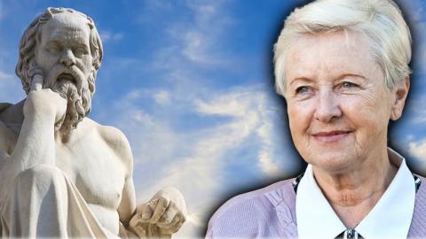 Anna Hogenová: Zakážou-li se myšlenky aotázky, je to konec myšlení. Ataková je dnešní doba