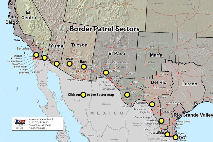 mexiko hranice usa